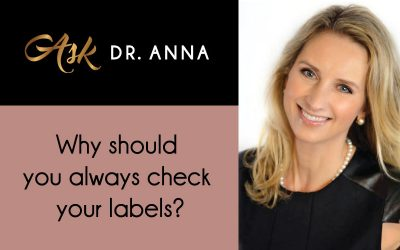 Why should you always check your labels?