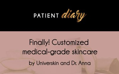 Customized medical grade skincare by Universkin and Dr. Anna