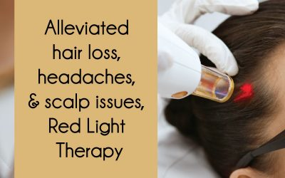Treat hair loss with Red Light Therapy
