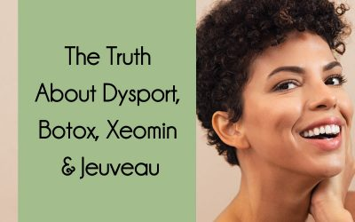The Truth About Dysport, Botox, Xeomin & Jeuveau