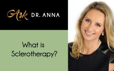 What is sclerotherapy?