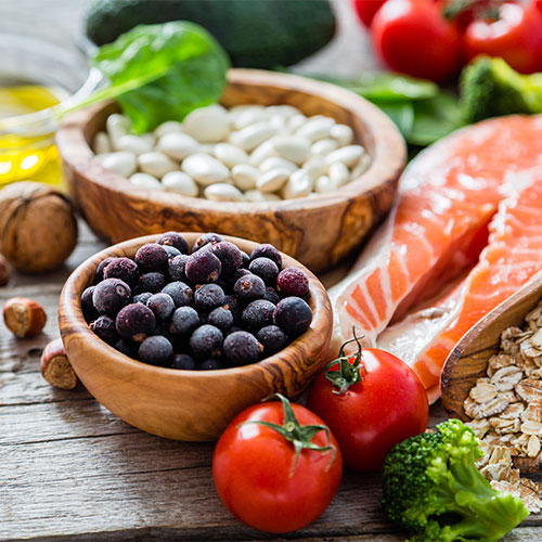 A health range of food for preventing diabetes