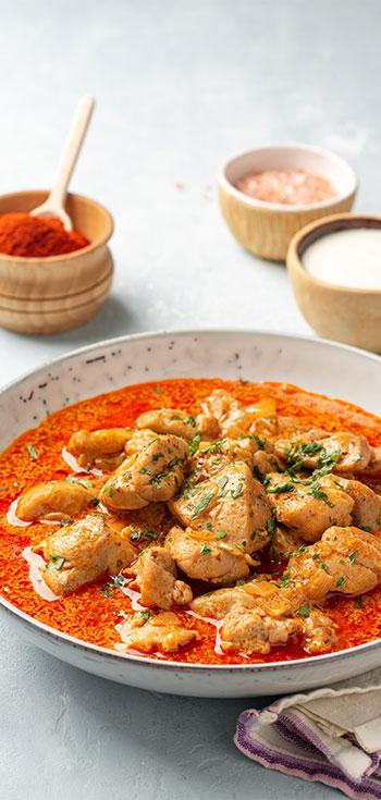 Pileci Paprikas (Chicken Paprikash)